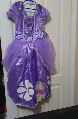 Disney Sofia The First Girls Halloween Dress up Costume Party Dress - Halloween Costumes Sofia The First