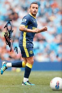 Wigan-Athletic-F-C-Albert-Crusat-Hand-Signed-11-12-Photo-12x8-3