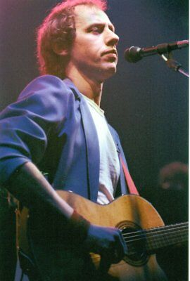 MARK KNOPFLER DIRE STRAITS PHOTO 1982 UNIQUE UNRELEASED IMAGE HUGE 12INCH RARITY