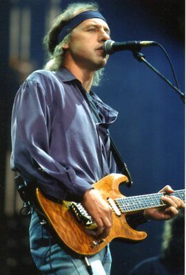 DIRE STRAITS PHOTO MARK KNOPFLER 1991 UNIQUE UNRELEASED IMAGE HUGE12 INCH RARITY