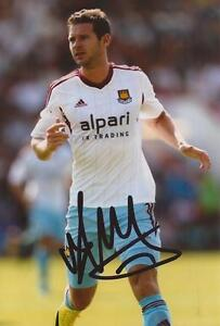 WEST-HAM-MATT-JARVIS-SIGNED-6x4-ACTION-PHOTO-COA