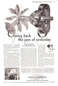 1927-Bell-Howell-Filmo-Motion-Picture-Camera-Joys-of-Yesterday-print-ad