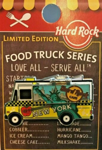 2019 HARD ROCK CAFE NEW YORK FOOD TRUCK SERIES STATUE OF LIBERTY HINGE LE PIN