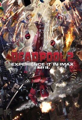 "Deadpool 2 IMAX - Original - Not reprint -exclusive poster 13"" x 19"""