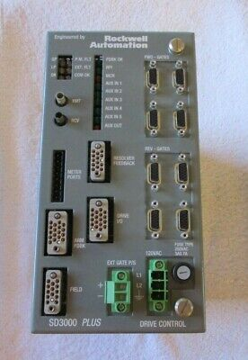 Rockwell Automation Sd300 Plus Drive Control  Sd3k-2004