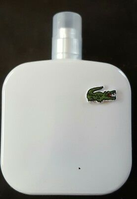 Lacoste Eau de Lacoste L.12.12 Blanc Pure 3.3 fl oz. New Authentic