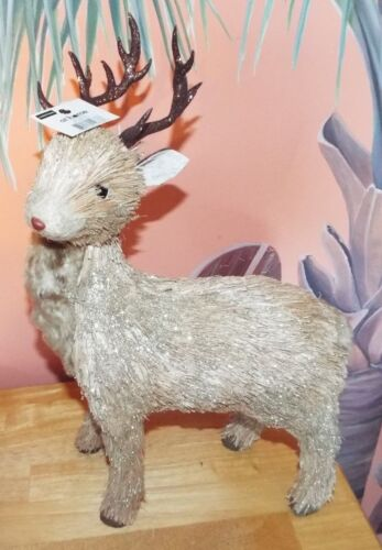 """FOREST FAIRY TALES DECORATIVE NATURE BUCK DEER DECORATION. 18"""" TALL . NEW"""