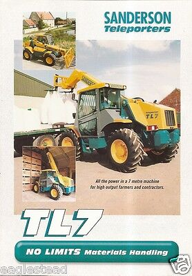 Farm Equipment Brochure   Sanderson   Tl7   Teleporter  F1911