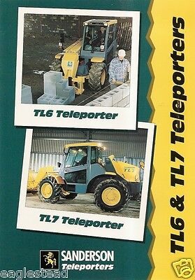 Farm Equipment Brochure   Sanderson   Tl6 Tl7   Teleporter   1996  F1910