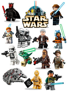 Lego Star Wars Wall Stickers - 5 sizes available