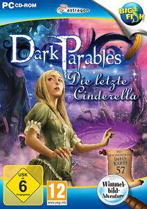 DARK PARABLES * DIE LETZTE CINDERELLA * WIMMELBILD-SPIEL  PC CD-ROM