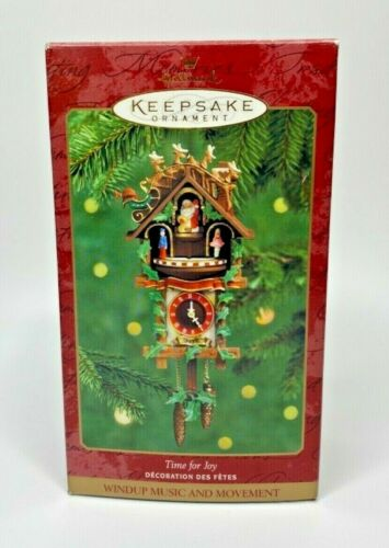2000 Hallmark Time For Joy Ornament U21