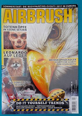 Airbrush Juni/Juli 04/2017 Nr.49  ungelesen 1A absolut TOP