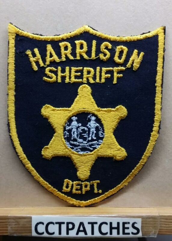 HARRISON COUNTY, WEST VIRGINIA SHERIFF (POLICE) SHOULDER PATCH WV