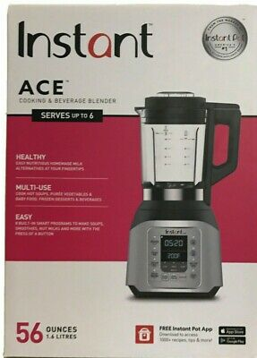 56 oz Instant Pot Ace 60 Cooking/Beverage Home Kitchen 8 Smart One-Touch Blender