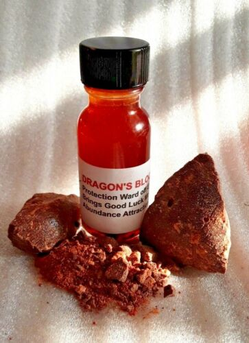 Dragons Blood Oil  Protection Oil Conjure Removes Negativity Hoodoo Pagan Wicca