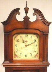vintage RESTORED PHILCO  71 GRANDFATHER CLOCK / RADIO - Good Working Clock & AM