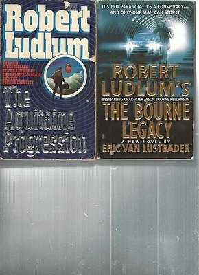 ROBERT LUDLUM - THE AQUITAINE PROGRESSION - A LOT OF 2 BOOKS