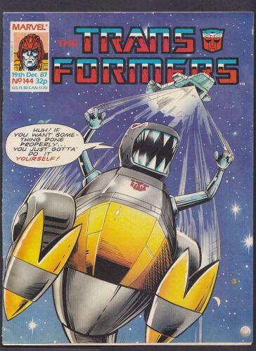Marvel Comic Transformers UK - Issue 144 - December 1987