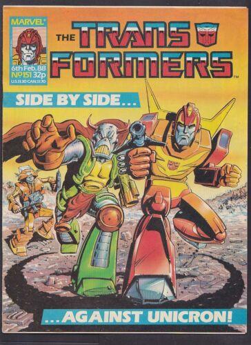 Marvel Comic Transformers UK - Issue 151 - February 1988