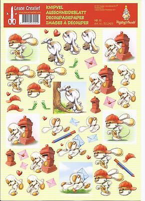 3D Etappen-Bogen-Mylo & Friends- Post - Briefe schreiben 11