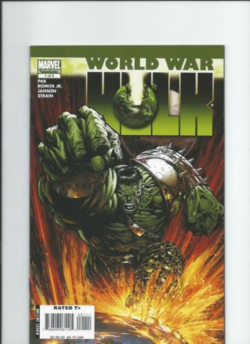Marvel Comics World War Hulk NM-/M 2007
