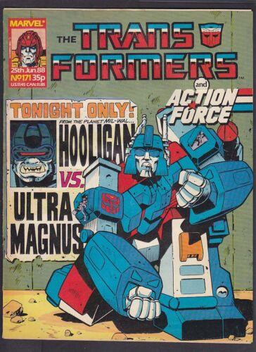 Marvel Comic Transformers UK - Issue 171 - June 1988