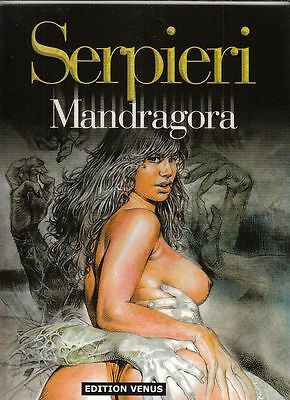 Serpieri Mandragora Softcover Comic-Album in Topzustand !!!