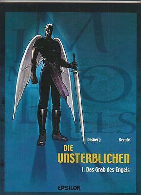5 SC-Alben die Unsterblichen Nr. 1 - 5 von Desberg / Recule in Topzustand !!!