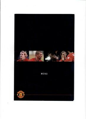 Manchester United v Juventus (Champions League) - 19/02/2003 - MENU