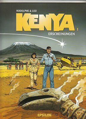 5 SC-Alben Kenya Nr. 1 - 5 von Rodolphe / Leo in Topzustand !!!