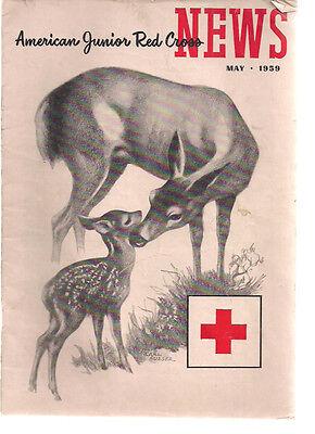 American Junior Red Cross News Magazine May 1959
