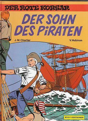 10 HC-Alben der Rote Korsar Nr.3 - 12 v. J.M.Charlier / V. Hubinon in Topzustand
