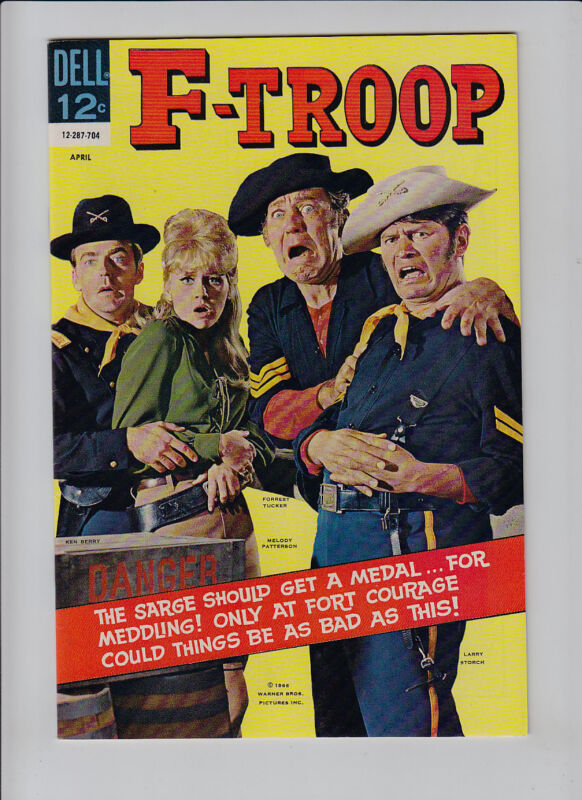 F-TROOP  # 4    DELL