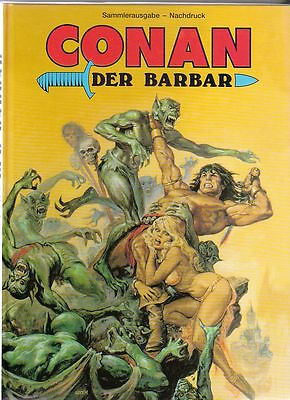 Conan der Barbar Hardcover Comic von J. + S. Buscrema in Topzustand !!!