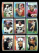 1978 Football Card Lot