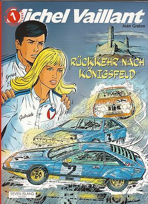 Michel Vaillant Spezial Nr. 1 Softcover Comic von Jean Graton in Topzustand !!!