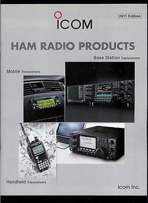 2011 ICOM Ham Radio Products Rare Original Factory Catalog IC 7800 7700 7600, used for sale  Baton Rouge