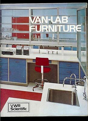 Van Waters Rogers Vwr Scientific Van-lab Laboratory Furniture Rare Catalog 101