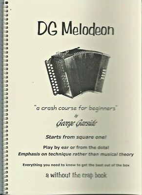 Melodeon Accordion tutor   Book