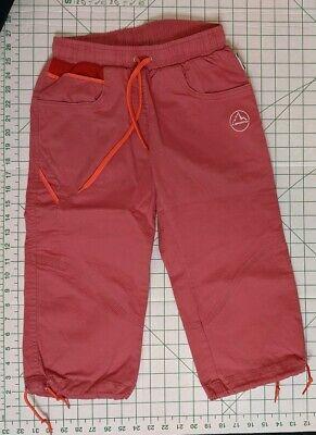 La Sportiva Climbing Ballerina Capri Women's Size: XS Red  for sale  Maple Valley
