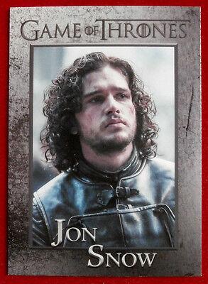 GAME OF THRONES - Season 4 - Card #40 - JON SNOW - Rittenhouse 2015