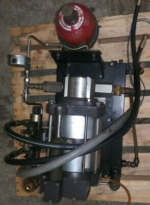 Maximator Air Driven Booster Pump Complete System
