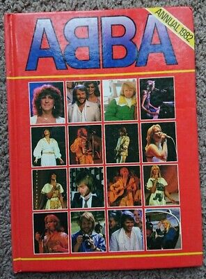 The Official ABBA Annual 1982 Hardback Book Unclipped