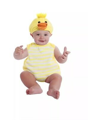 Duck Bubble Infant Halloween Dress Up / Role Play Costume Size 0-9 Months - Duck Baby Costume