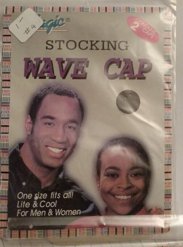 MAGIC Stocking Wave Caps- GREEN, package of 2