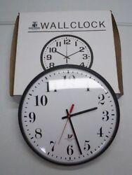 NEW Chicago Lighthouse Contemp. 12 Qtz Slimline Clock 67300002