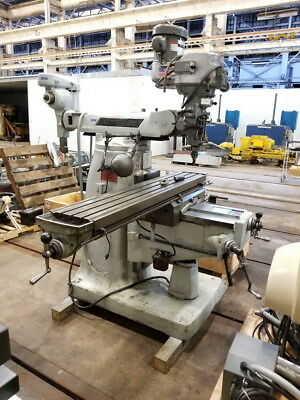 Bridgeport Series Ii Special Turret Milling Machine 2 H.p. Vari-speed Head