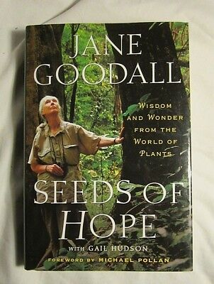 Seeds Of Hope  Wisdom   Wonder The World Of Plants Jane Goodall Hardcover New