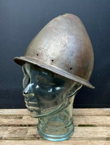 Original 16th century Italian Cabasset Helmet - Berberini Papal Arsenal - Armour